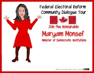 Do It Yourself Federal Electoral Reform Community Dialogue Tour ~ print version
