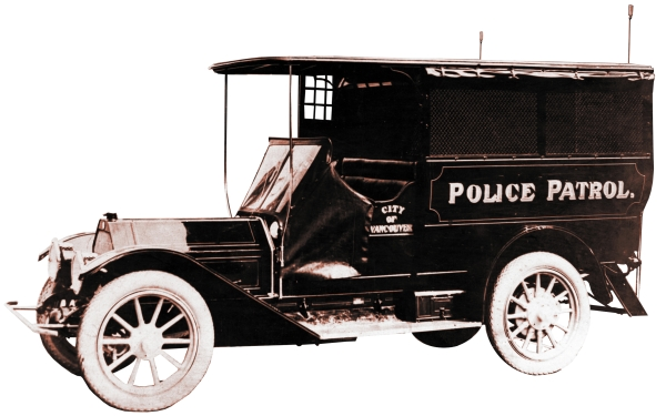 First Vancouver Police Department patrol wagon